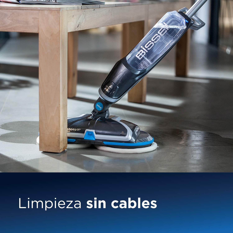 Bissell 2240N SpinWave Cordless, mopa eléctrica para Suelos Duros ...