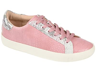 Journee Collection Comfort Foam Camila Sneakers (Pink) Women
