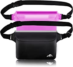 HEETA 2-Pack Waterproof Pouch, Screen Touch Sensitive Waterproof Bag with Adjustable..