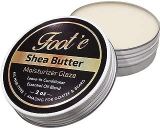Foot'e Shea Butter Moisturizer Glaze Leave In Conditioner Essential Oil Blend (Caribbean Twist) 2oz