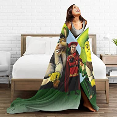 Easter Gift Funny Cartoon Blankets Soft and Comfortable,Ultra-Soft Micro Fleece Blanket,for Bed Or Sofa,All Season Throw Blan