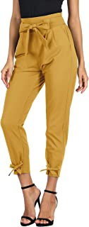 Best yellow check pants Reviews