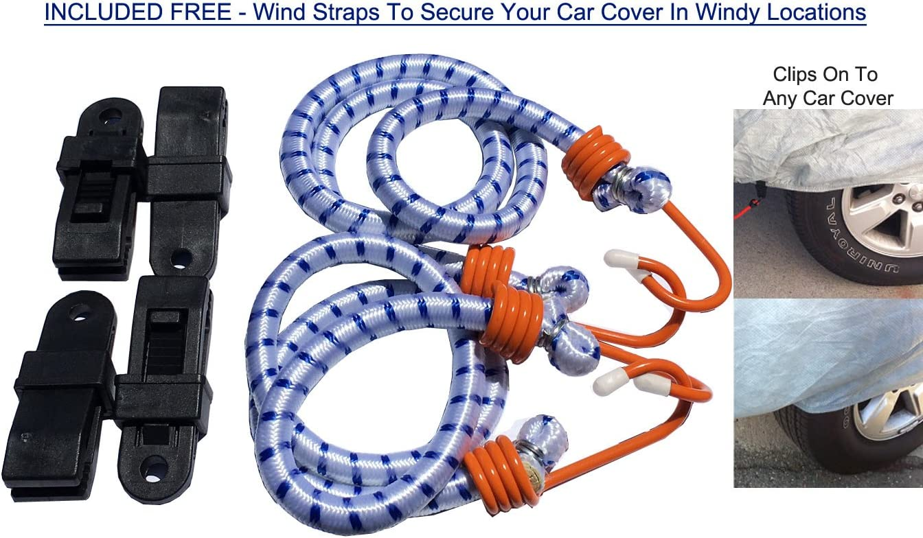 Bag /& Wind Straps UV Rays Fleece Lining Weatherproof Car Cover Compatible with Ford Model T 1908-1927 Snow 5L Outdoor /& Indoor Protect from Rain Sun Hail Anti-Theft Cable Lock