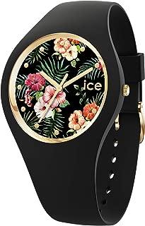 Ice Flower Womens Analog Quartz Watch with Silicone Bracelet IC016660