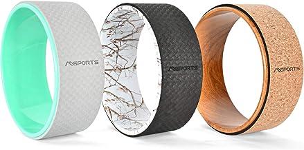 MSPORTS Yoga Wheel - Premium - hulpmiddel bij yoga-oefeningen   yogawiel