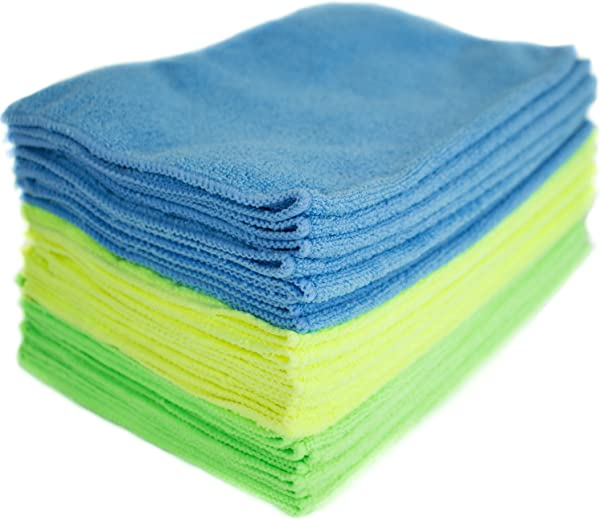 Zwipes Microfiber Cleaning Cloths 24 Pack