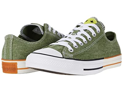 Converse Chuck Taylor All Star Happy Camper Patch Ox (Cypress Green/Zinc Yellow/White) Shoes