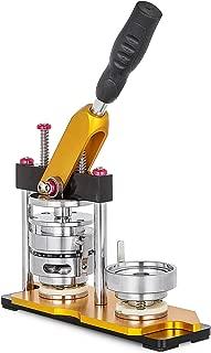 VEVOR Button Maker 58mm Badge Machine Rotate Button Badge Maker Punch Press Machine for DIY 58mm Badges