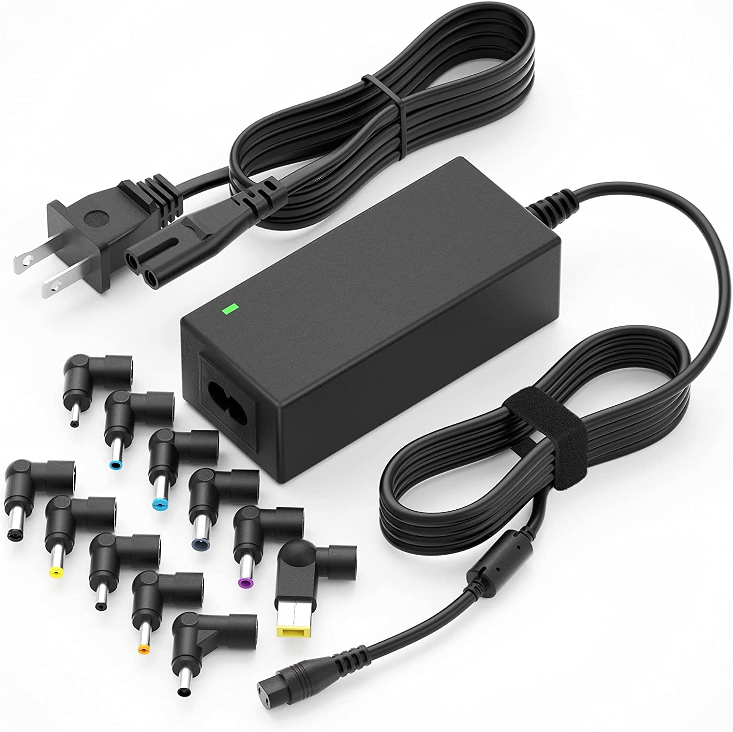 Universal Laptop Charger 45W Power Adapter for Dell hp Samsung Sony Acer Asus Toshiba Gateway FUJITSU Delta NEC Liteon and chromebooks laptops ultrabook Notebook Computers