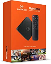VANKYO MatrixBox X95A 4K Android TV Box, Ultra HD 2GB RAM 16GB ROM TV Streaming Player w/ Amlogic S905W 64 Bits Quad Core Processor