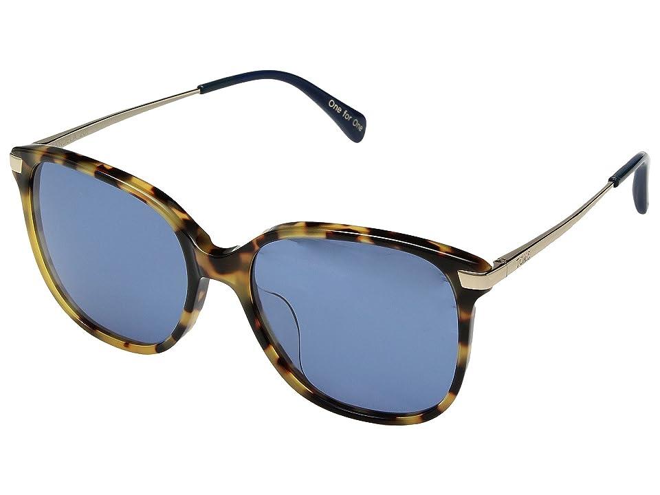 Retro Sunglasses | Vintage Glasses | New Vintage Eyeglasses TOMS Sandela 201 Blonde Tortoise 1 Fashion Sunglasses $139.00 AT vintagedancer.com