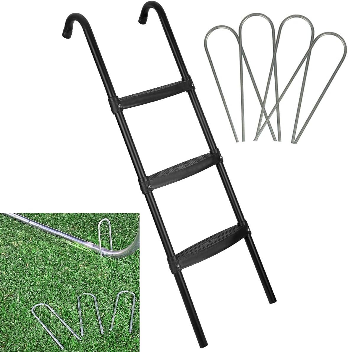 HLOFIZI Trampoline Ladder Universal for 14ft 15 ft, Kids Trampol