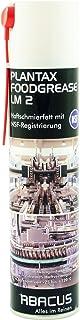 plantax foodgrease lm 2Spray 400ml (3560)–Antiadherente grasa lubricante con rango de registro de NFS Autorizada para alimentos cerveza espuma Best integrado–Abacus