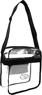 Littlearth NFL Kansas City Chiefs Clear Carryall Crossbody Bag