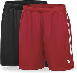 BALEAF Men's 2-Pack Athletic Soccer Shorts Lightweight...