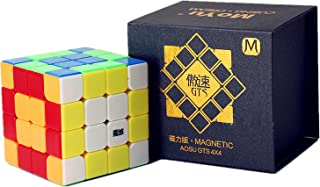 Liangcuber Moyu Aosu GTS M 4x4 Stickerless Bright Speed Cube Moyu Aosu GTS Magnetic 62mm Cube Puzzle