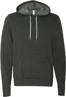 Bella + Canvas Unisex Poly-Cotton Fleece Pullover Hoodie Sweatshirt