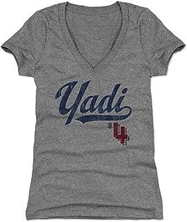 500 LEVEL Yadier Molina Women's Shirt - St. Louis Baseball Women's Apparel - Yadier Molina Players Weekend
