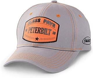 BD&A Peterbilt 3D Orange Patch Hat