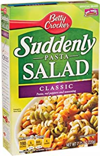 Betty Crocker Suddenly Pasta Salad Classic Pasta Red Peppers & seasoning (6 boxes)