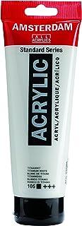 Amsterdam Standard Series Acrylic Paint titanium white 250 ml