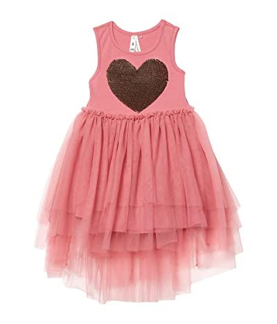 COTTON ON Iris Tulle Dress (Little Kids) (Very Berry/Tiered Heart) Girl
