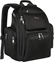 Backpack Diaper Bag, Waterproof Baby Travel Bag for Dad and Men, Large Multi-Function, Many Pockets, Lightweight, Stylish Diaper Backpack, Black