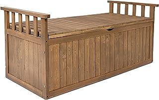 Gardeon Outdoor Storage Box Wooden Garden Bench-200L