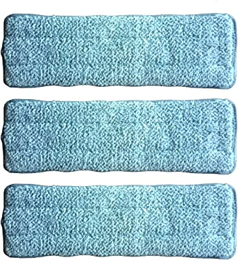 DUVERRA Microfiber Magic Self Cleaning Flat Mop Refill - Pack of 3