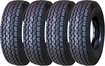 4 New Premium Trailer Tires ST 225/75D15 Deep Tread - 11022 …