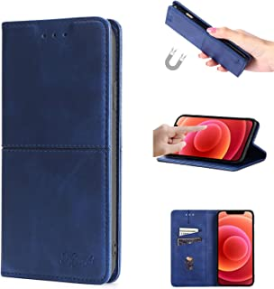 ESONG Hoes voor OPPO A94 5G/F19 Pro Plus,Magnetic Wallet Flip Case with Card Slots, Premium Leather Stand Folio Cover for ...