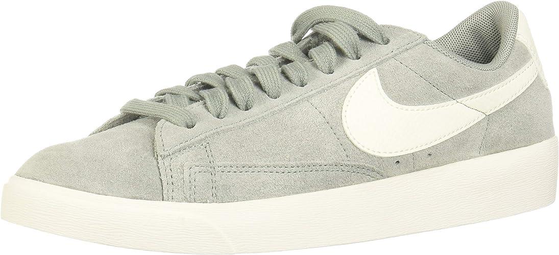 Nike W Blazer Faible SD, Chaussures de Basketball Femme, MultiCouleure (Mica vert Sail 302), 38 EU