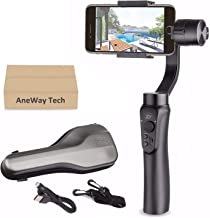 Zhiyun Smooth-Q Gimbal Stabilizer, 3-Axis Gimbal Stabilizer for iPhone X XR XS Pixel Smartphone Vlog - US Warranty (Renewed)