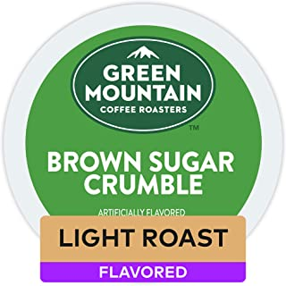 Green Mountain Coffee Roasters Brown Sugar Crumble, Single-Serve Coffee K-Cup Pods, Flavored Coffee, 72 Count