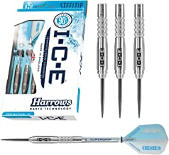 دبوس سهم Harrows Ice Steel Tip Tungsten 90% - 24 جرام - مجموعة من 3 دبابيس.