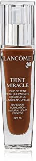 Lancome Teint Miracle Bare Skin Foundation Natural Light Creator SPF 15, No. 14 Brownie, 1 Ounce