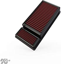 K&N engine air filter, washable and reusable:  2011-2016 Ford SuperDuty V8 (F250, F350, F450, F550, F650) 33-5010