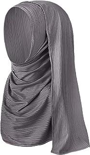 Solid Color Women Jersey Hijab Scarf Fashion Soft Long Muslim Head Wrap Shawls