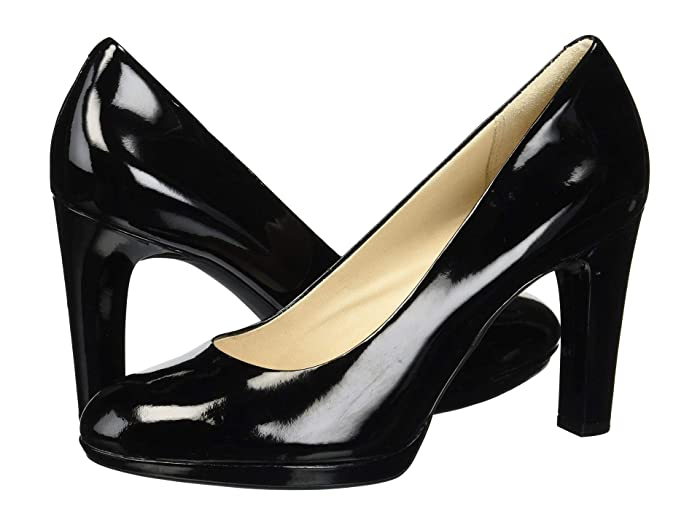 Rockport  Seven To 7 Ally Plain Pump (Black Patent) Womens Shoes