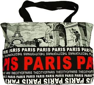 Robin Ruth 'Paris Photo' Shopping Bag - Black, Red