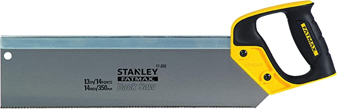 Stanley 2-17-202 Sierra de costilla 350mm - 13 dientes FatMax