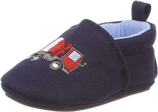 sterntaler baby-krabbelschuh 婴儿男孩拖鞋