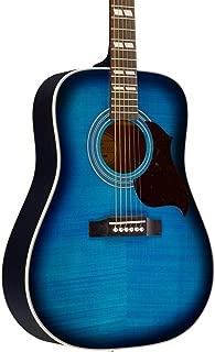 Epiphone Hummingbird Artist Acoustic Guitar Blueburst