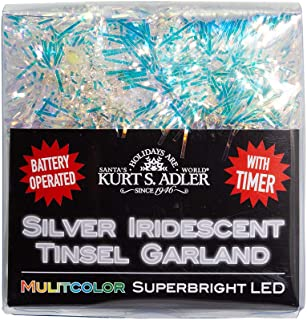 Kurt S. Adler BAT0306M String Lights, Multi-Color