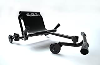 EzyRoller Drifter - Black - Ride On for Children Age 6+ Years Old - New Twist on Scooter - Kids Move and Drift Using Right-Left Leg Movements to Push Foot Bar - Fun Play and Exercise