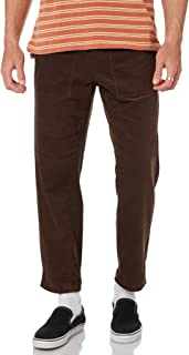The Critical Slide Society Men's All Day Mens Cord Pant Soft Corduroy Brown