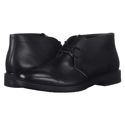 Calvin Klein Cam (Black Smooth Calf Leather) Men