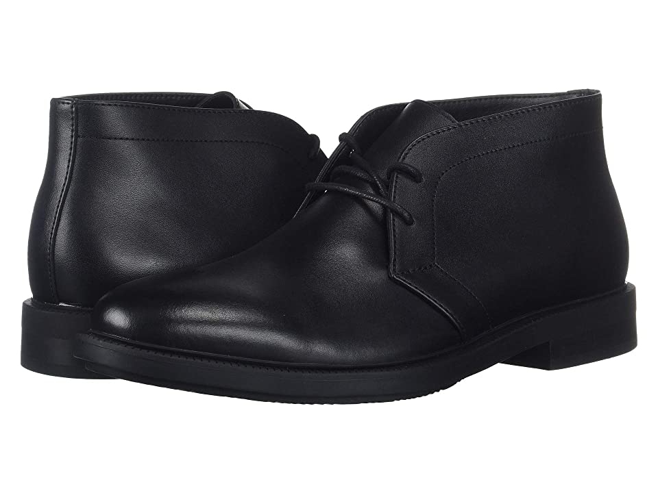 Calvin Klein Cam (Black Smooth Calf Leather) Men