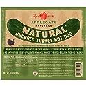 Applegate, Natural Uncured Turkey Hot Dog, 10oz