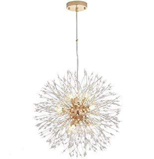 Modern Sputnik Crystal Chandelier Pendant Lighting...